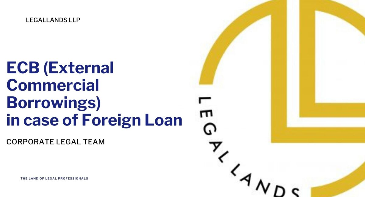 ecb, ECB in case of Foreign Loan