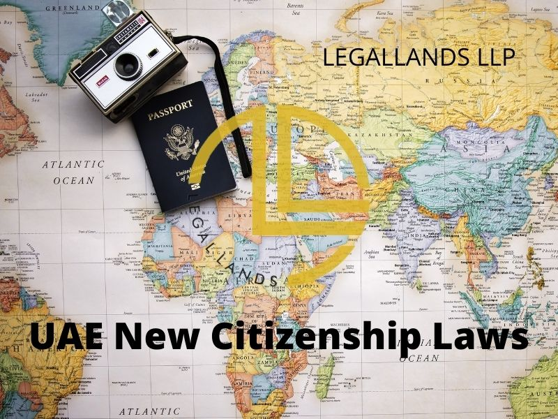 NEW UAE CITIZENSHIP LAW
