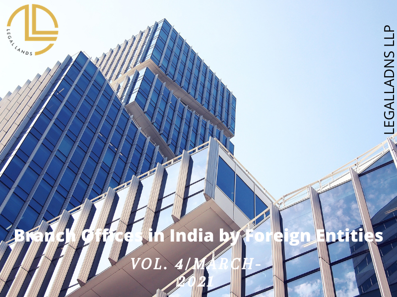 Branch Offices in India by Foreign Entities